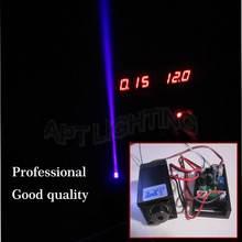 Реальная Высокая мощность 200 мВт нм фиолетовый синий лазерный