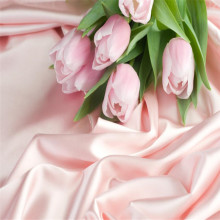 Romantic pink rose silk background decorative wall professional production wallpaper custom poster photo