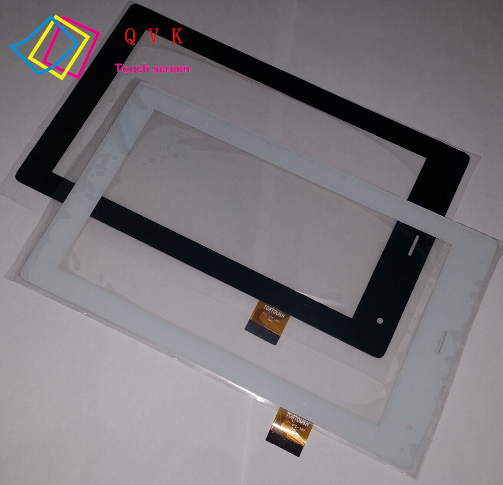 10pcs 7inch touch screen panel for megafon Login 3 MT4A Login3 MFLogin3T tablet TPC1463 VER5.0 FL FL-070-290 TPT-070-360 original touch screen panel digitizer glass sensor replacement for 7 megafon login 3 mt4a login3 tablet free shipping