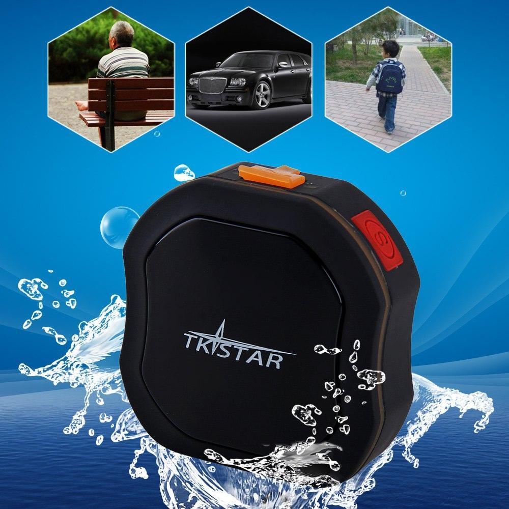 car tracker tk star waterproof mini auto gsm gps tracker with sos communicator emergency help for