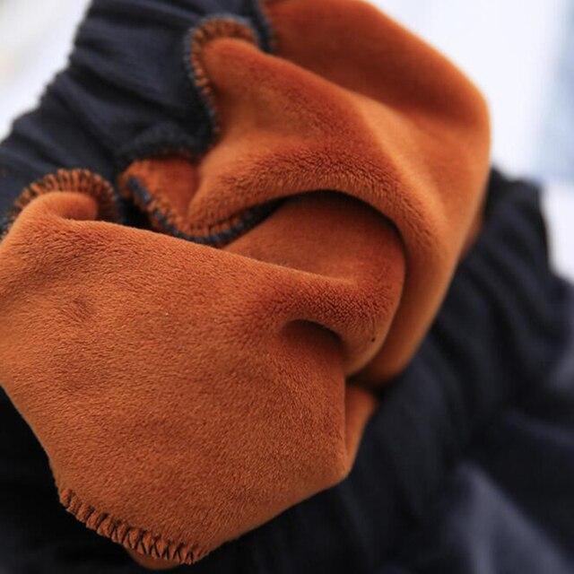Rihschpiece Winter Plus Size 3XL Velvet Pants Women Elastic High Waist Harem Pant Warm Loose Fleece Sweatpants Trousers RZF1410 3