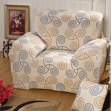 1 Piece Luxury Decorative Stretch Polyester Sofa Cover Modern Office Sofa Home Decor Geometric Flower