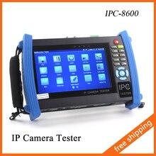 IPC-8600 7 Дюймов Ip-камера Тестер Сенсорный Экран 1080 P HDMI CCTV Тестер Тест PTZ Управления WI-FI Onvif POE Монитор тестер