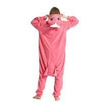 Pink whale Onesies Women Pajamas Adult Costume Animal Onesie Sleepwear Jumpsuit Cartoon Sleepsuit Cosplay party