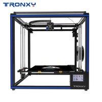 Горячая Распродажа Tronxy X5SA 400 3D принтеры DIY наборы автоматическое выравнивание сенсорный экран тепла кровать 400*400 мм