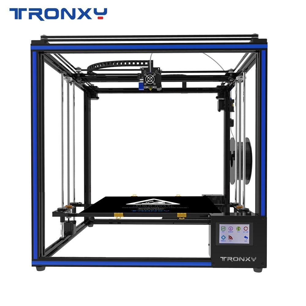 Hot Sale Tronxy X5sa 400 3d Printer Diy Kits Auto Leveling Touch Screen Heat Bed 400 400mm