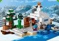 Brinquedo das crianças DA MARCA CHINA 391 auto-travamento bricks Compatíveis com Lego 1120 a Neve Esconderijo sem caixa original