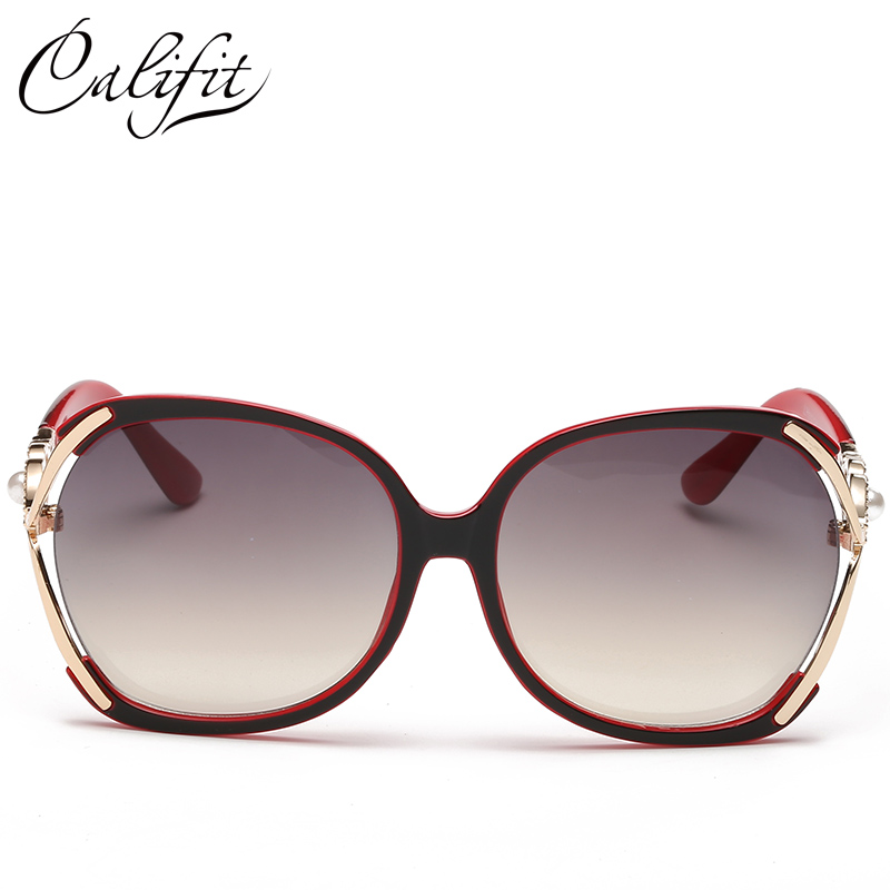 3396aea5ca03 CALIFIT Ladies Vintage Butterfly Sunglasses Women Party Ponit Oversized  Luxury Brand Designer Shades 2018 New Sun Glasses Oculos-in Sunglasses from  Apparel ...
