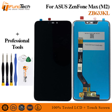 6.0 1920*1080 for ASUS ZenFone Max M2 ZB633KL X01AD LCD Display Screen Touch Panel Digitizer Assembly 30pin lcd display with touch assembly for asus zenbook pro ux501vw 1920 1080