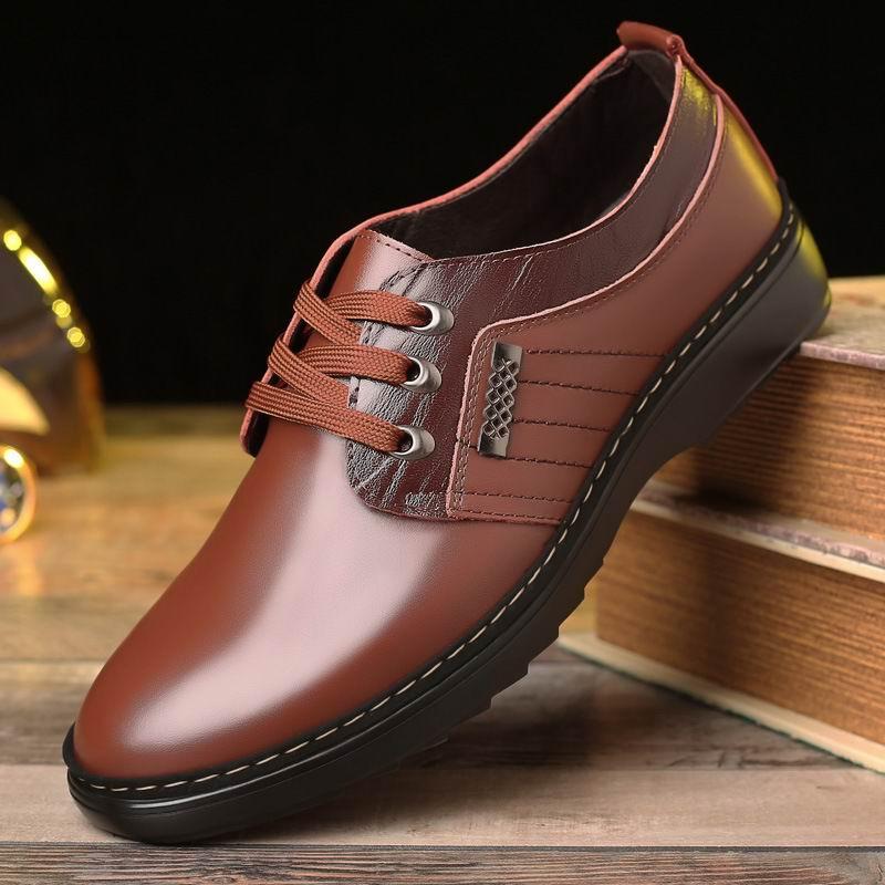 Sapatos Casuais Homens Moda Pé Errfc Do Lazer Preto Macios marrom Zapatos Dedo Redondo 44 Hombre Até Tendências Vestido Marrom Homem 38 Rendas Negro Ewvqv6t