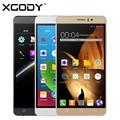 XGODY Y12 6.0 дюймов 3 Г Смартфон MTK6580 Quad Core 512 МБ RAM 8 ГБ ROM Мобильный Сотовый Телефон Dual SIM 5.0MP с БЕСПЛАТНОЙ 8 ГБ TF Карты