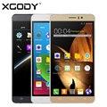 Xgody y12 6.0 pulgadas 3g smartphone mtk6580 quad core 512 mb ram 8 gb ROM Teléfono Celular Móvil Dual SIM 5.0MP con la Tarjeta LIBRE de 8 GB TF