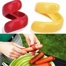 Кухонные инструменты для барбекю, ломтик хот-дога, пластиковый нож колбасный, креативный инструмент для приготовления пищи, кухонные принадлежности, 2 шт