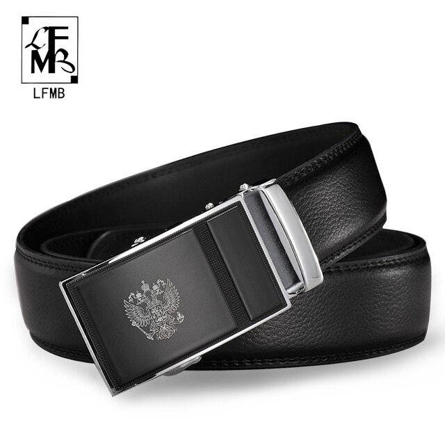 88ac38207eab37 [LFMB] automatique ceinture automatique hommes ceinture automatique boucle  en cuir ceinture ceinture homme automatique