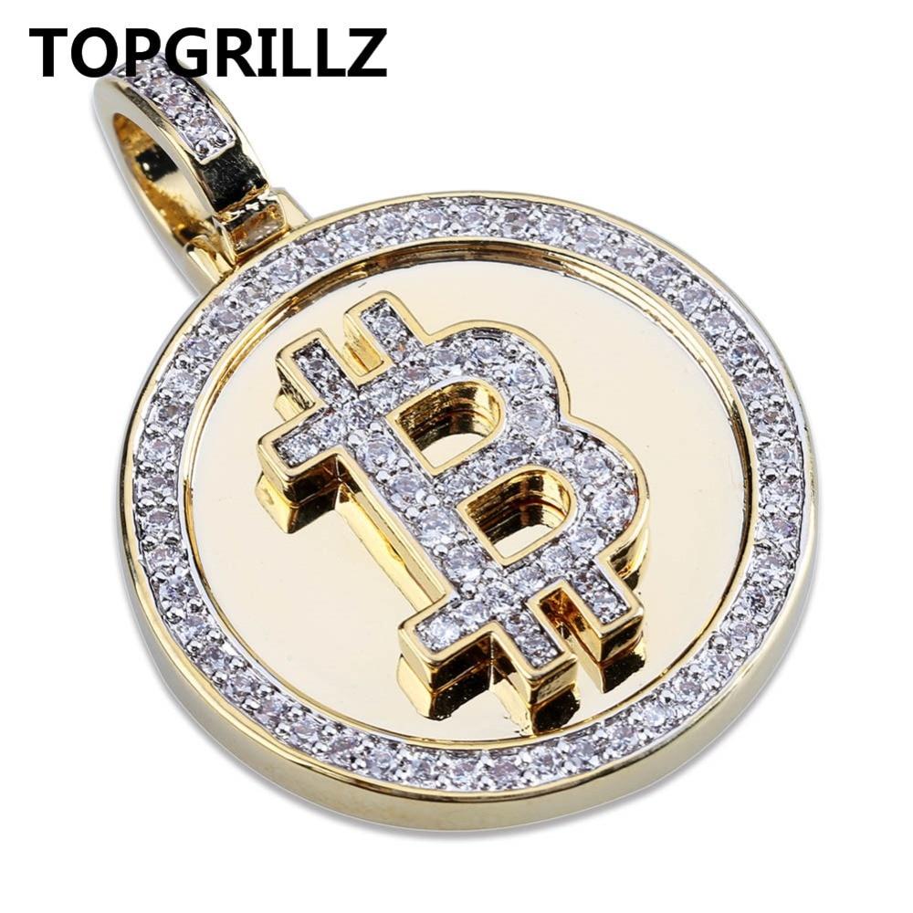 Bitcoin Bling Bling Pendant