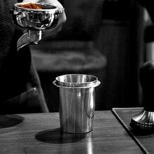 Coffee Dosing Cup Stainless Steel Powder Precision For EK43 Grinder Tea Accessories