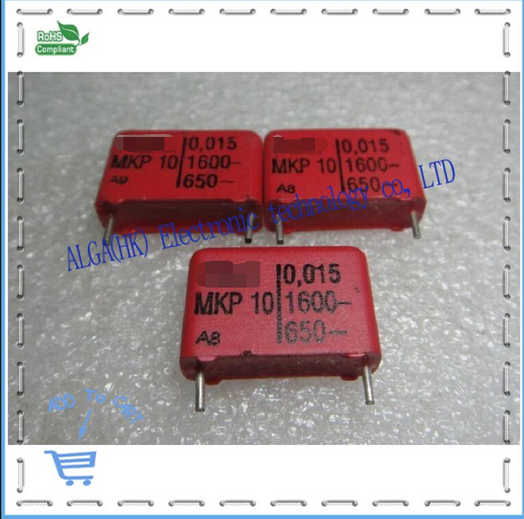 Passive Components Wei Ma Mkp 10 Film Capacitor 0.015 Uf Nf And 153/1600 V P = 15 Mm Elegant In Style