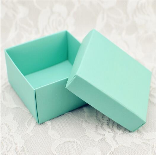 CA0813 Blank 250gsm Pearlised Paper Wedding Favor Box