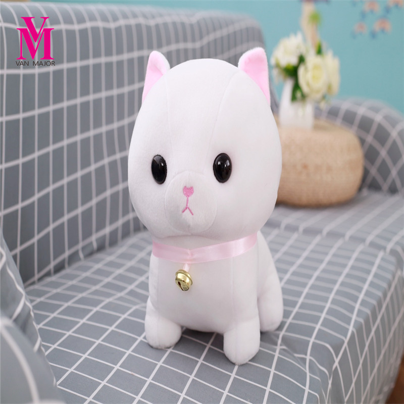 1pc 30cm Super Cute Munchkin Cat Plush Toy Kawaii Staffed Animal Toy Doll Kids Love Toy Birthday Gift for Girls Home Decoration