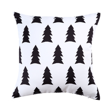 Morigins 2018 New Fashion Womens Pillow Cases Geometric Pillowcase Cotton Cover Bedroom 18x18 Inches Home N2