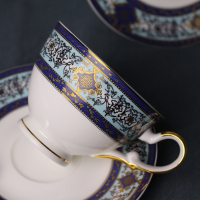 Free Shipping Ceram Coffee Cup Tea Milk Cup Afternoon Tea Cup With Plate With Top Quality