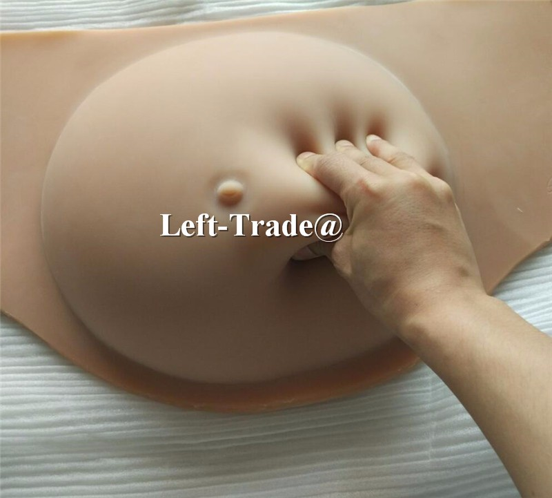 artificial silicone belly