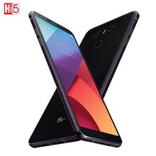 Débloqué LG G6 Plus téléphone portable 4G RAM G6 + H870DSU 128G ROM Quad core 4G LTE double SIM 5.7 pouces affichage 3300mAh téléphone portable 13MP