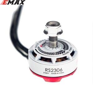 Image 2 - الأصلي EMAX RS2306 2400KV /2750KV الأبيض طبعات RaceSpec فرش موتور ل FPV أجهزة الاستقبال عن بعد