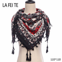 Ladies Square Scarf Women 2018 Foulard Femme Bandana Shawl Womens Square Stole Cashmere Head Hair Viscose Hijab Cotton Scarf