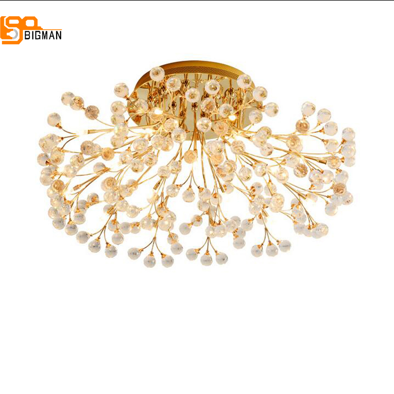 new design modern crystal chandelier LED lamp gold chrome living room chandelier bedroom light anon маска сноубордическая anon somerset pellow gold chrome