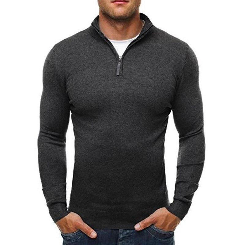 Sweater Pullover Men 2017 Male Brand Casual Slim Sweaters ...