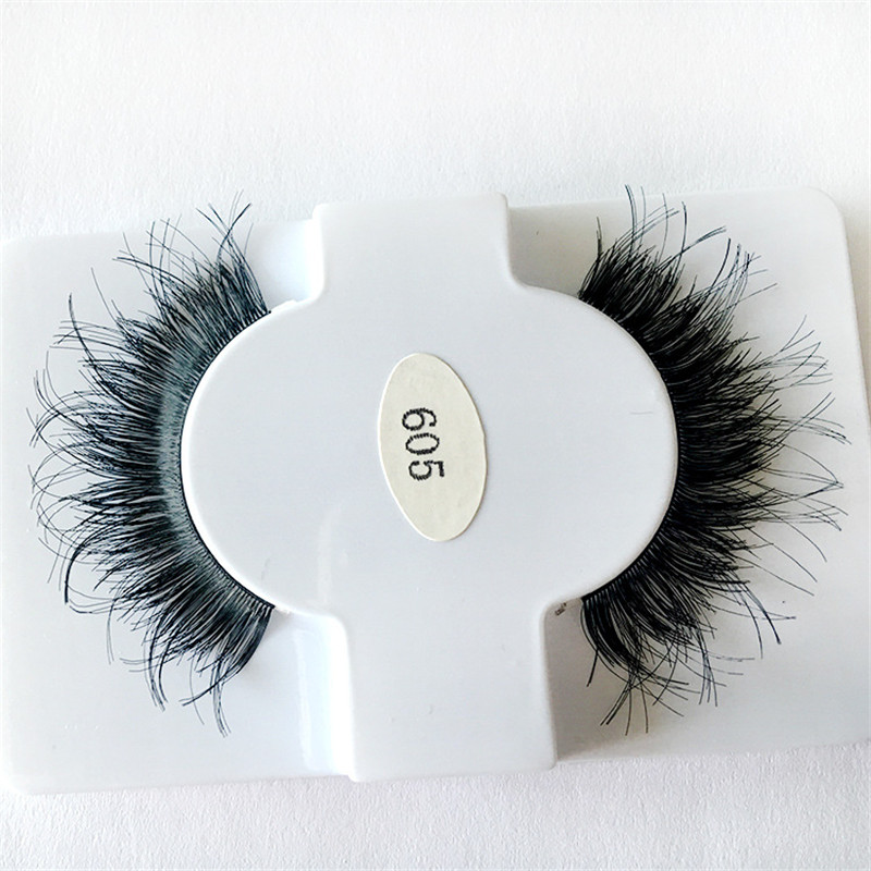 1Pcs Natural Lifelike Real Hair Eyelash Natural Thick Sex -2113