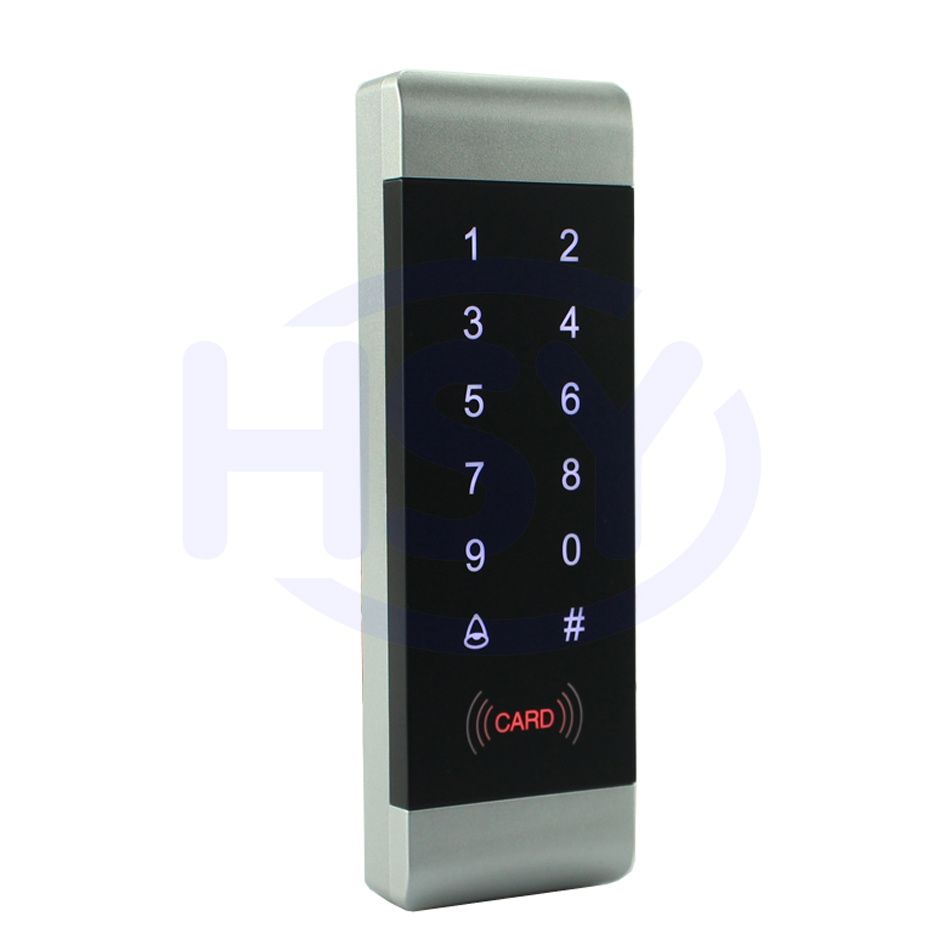 US $16 95  HSY Touch Keypad Standalone Access Controller RFID Proximity EM  Card Keyfobs Keyboard Single Door Access Control syste-in Access Control