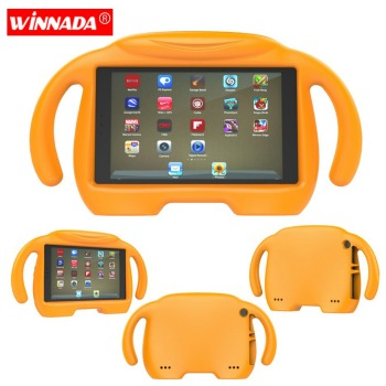 For Amazon Kindle Fire HD 8 2017 Case Baymax Kids Tablet Shell shockproof EVA Hand-held Stand Cover for Kindle Fire HD8 2016 tablet case 7 inch universal tablet pc protective shell for children shockproof cover eva handle stand for amazon kindle fire