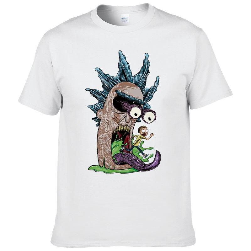 2017 Sommer Rick Und Morty T-shirt Männer Polarität Rick Morty Kreative T-shirt Kurzarm Baumwolle Männer Tops Cool T-shirts #271 Ausgereifte Technologien