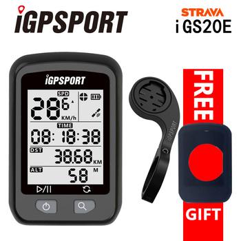 IGPSPORT iGS20E GPS licznik rowerowy inteligentny wodoodporny IPX6 MTB Road komputer rowerowy Sport prędkościomierz mileometr dla rowerzysty tanie i dobre opinie Bezprzewodowy stoper iGS 20e 46*71*22mm 3 0*3 8cm Black Built-in Battery 1 Year About 200 hours of data storage High sensitivity GPS
