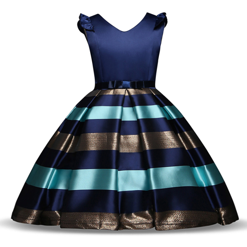 Little Girls Dresses for Party and Wedding Kids Dresses for Girls Summer Frocks Children Princess Prom Dress Girls Clothes 10T dresses for girls high quality children dress long sleeve kids clothes summer dress flower girls dresses for party and wedding