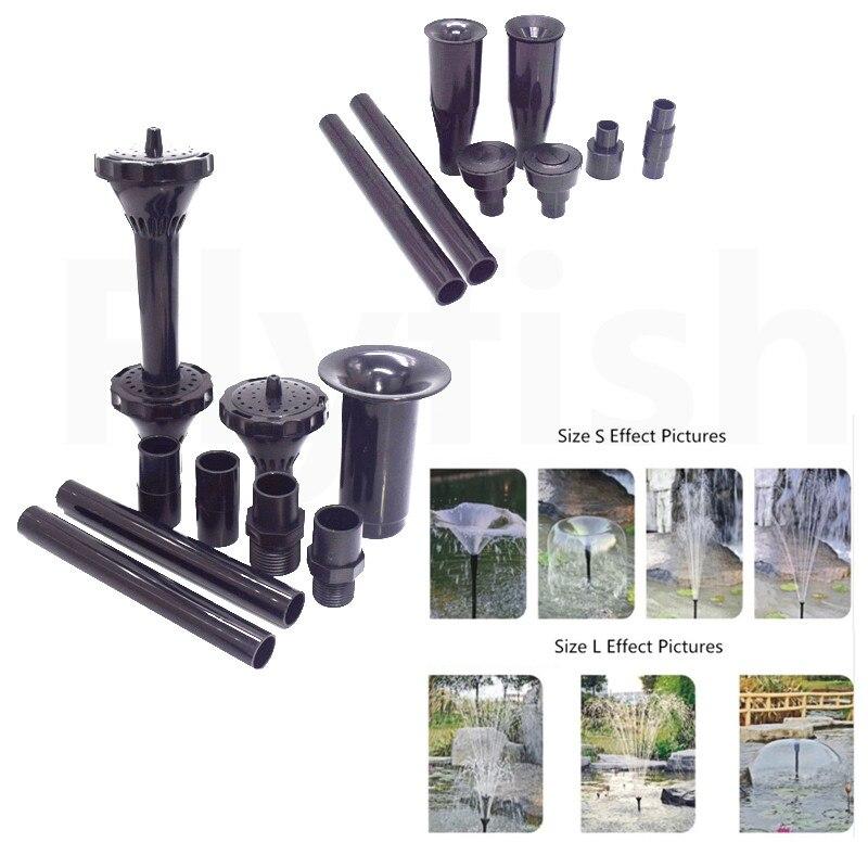 Doppel Schicht Wasser Brunnen Sprinkler Spray Kopf Dusche brunnen Pumpe Garten Dekorative pilz Außen Brunnen Wohnkultur