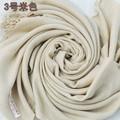 Free Shipping Beige Chinese Female Cotton Muffler Elegant Warm Scarf Long Large Fringe Wrap 18 Colors Avaiable 180 x 69 cm