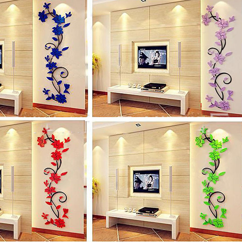Outstanding Acrylic Crystal Wall Decor Composition - Wall Art Design ...