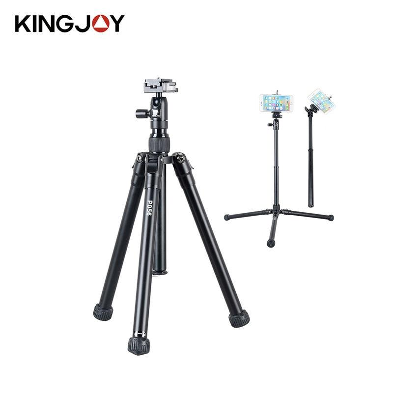 все цены на KINGJOY DSLR Camera Tripod For Phone metal black Gorillapod Flexible Mini telefon mobile phone Tripod Monopod Tripode para movil онлайн