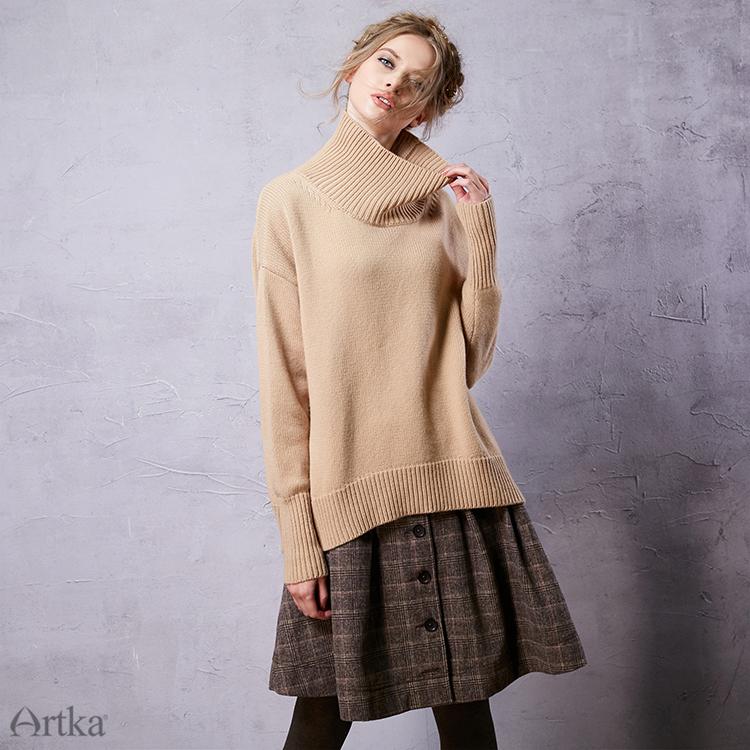 用冬の女性のウールスカートロリータショートスカート女の子のためのヴィンテージ格子縞のスカートミニサイア 2018 USD  10