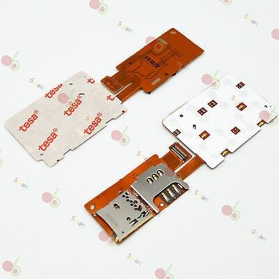 SIM + MICRO SD READER KEYBOARD KEYPAD TRAY HOLDER FLEX CABLE FOR NOKIA X3-02