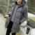Homens de inverno Com Capuz Parka Exército Verde Militar Casuais Médio E Longo Homens Jaqueta acolchoada Plus Size 5XL Casaco Quente Amassado Homens Outerwear