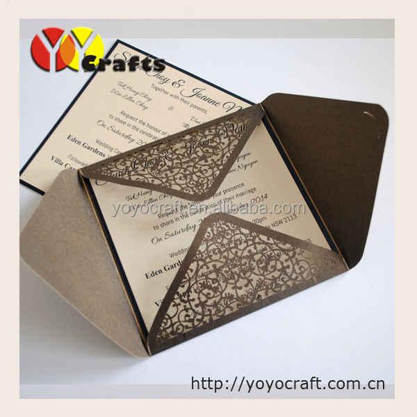 Customized Wedding Birthday Party Invitation Card Hot Sale