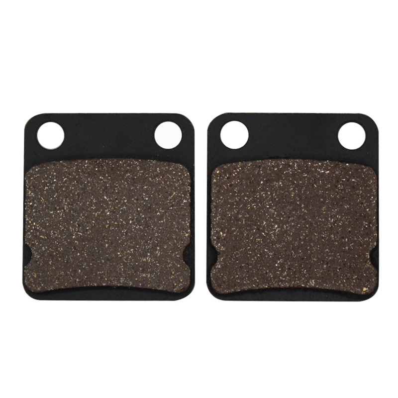 Cyleto Motorcycle Front Brake Pads for SUZUKI DR 125 DR125 1986-1996 <font><b>DR200</b></font> 1986-2016 SP200 SP 200 1986-1988 DR250F DR 250 F 1985 image