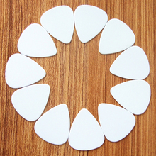 New hot 10pcs / lot 0.71mm white high quality guitar picks Guitar neckAccessories tuner stand