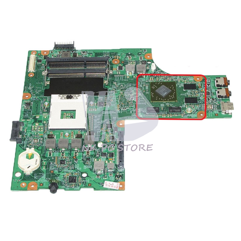 NOKOTION CN-0K2WFF 0K2WFF K2WFF Main Board For Dell Inspiron 15R N5010 Laptop Motherboard 48.4HH01.011 HM57 HD4650 Video Card nokotion for dell inspiron m301z n301z laptop motherboard cn 0f1x70 0f1x70 hm57 i3 330um cpu ddr3 hd5430 video card
