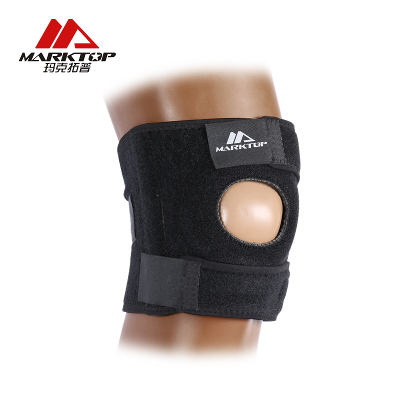 Elastic Open Patella Knee Pads Breathable Warmth Adjustable Sports Safety Kneepad Volleyball Training Knee Pad Brace Protector