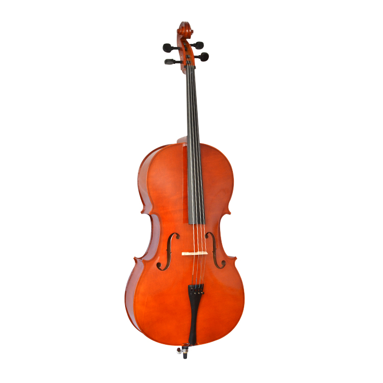 High Quality Handmade Cello Stringed Instruments Portable Matte gross Cello for Adults Children Beginner Violoncello 4
